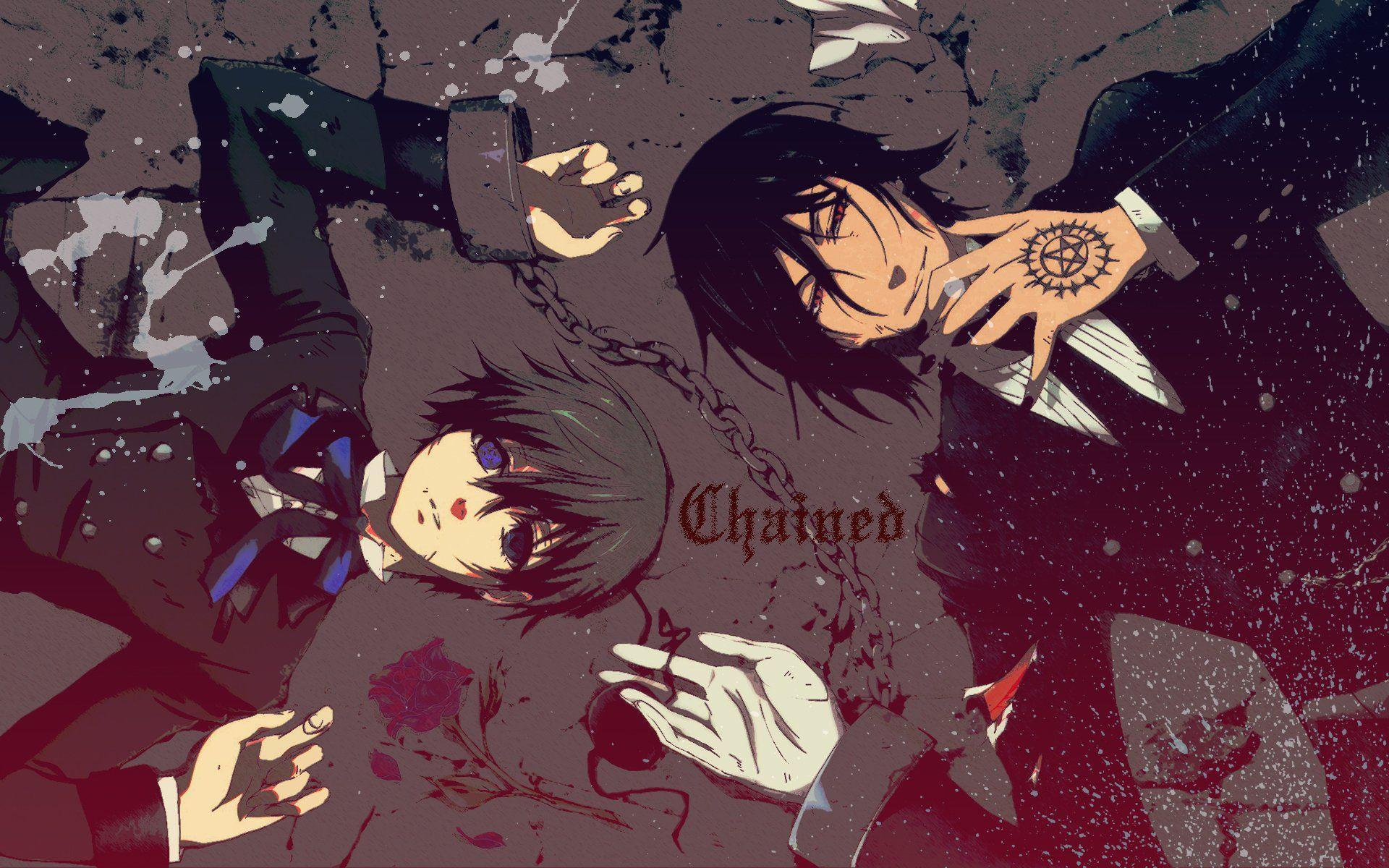 Black Butler HD Wallpapers - Top Free Black Butler HD Backgrounds ...