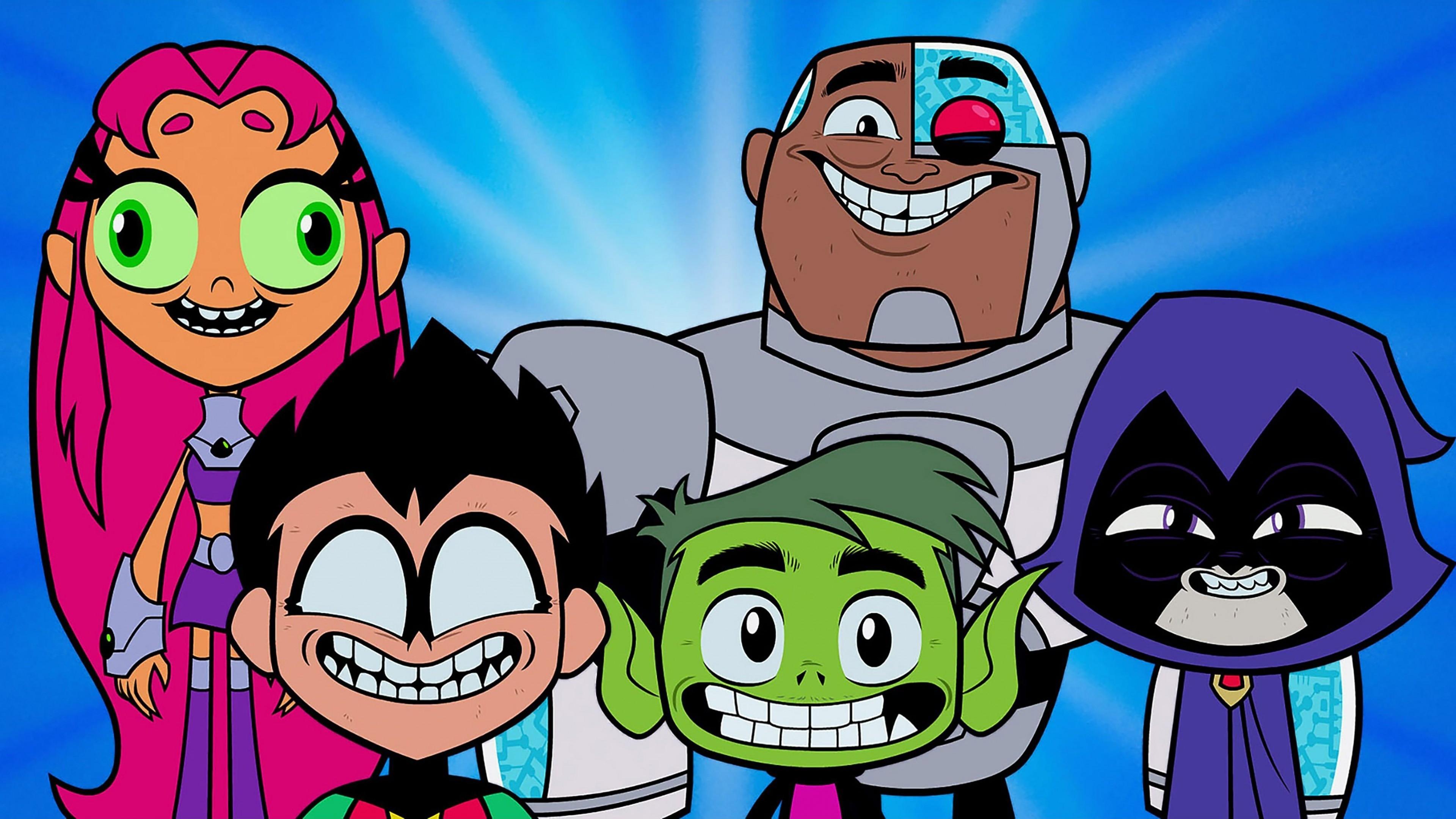 Teen Titans Go! Background 7