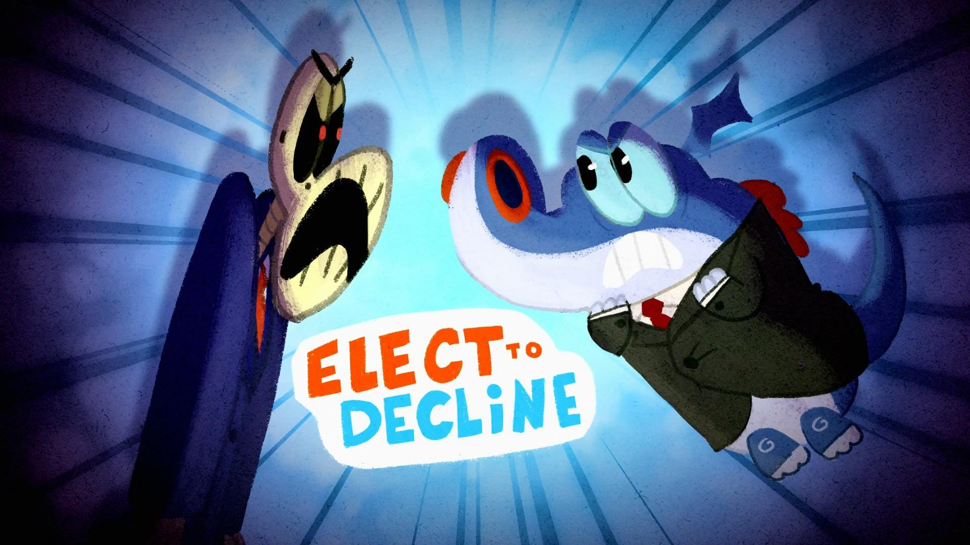 Elect to Decline | Mighty Magiswords Wiki | FANDOM powered by Wikia