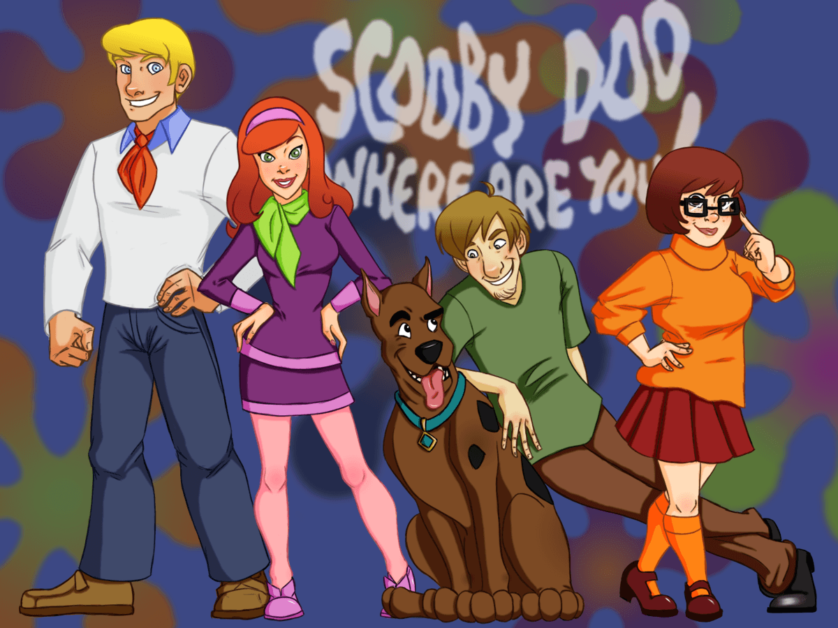 Scooby Doo Where Are You HD Backgrounds for MacBook
