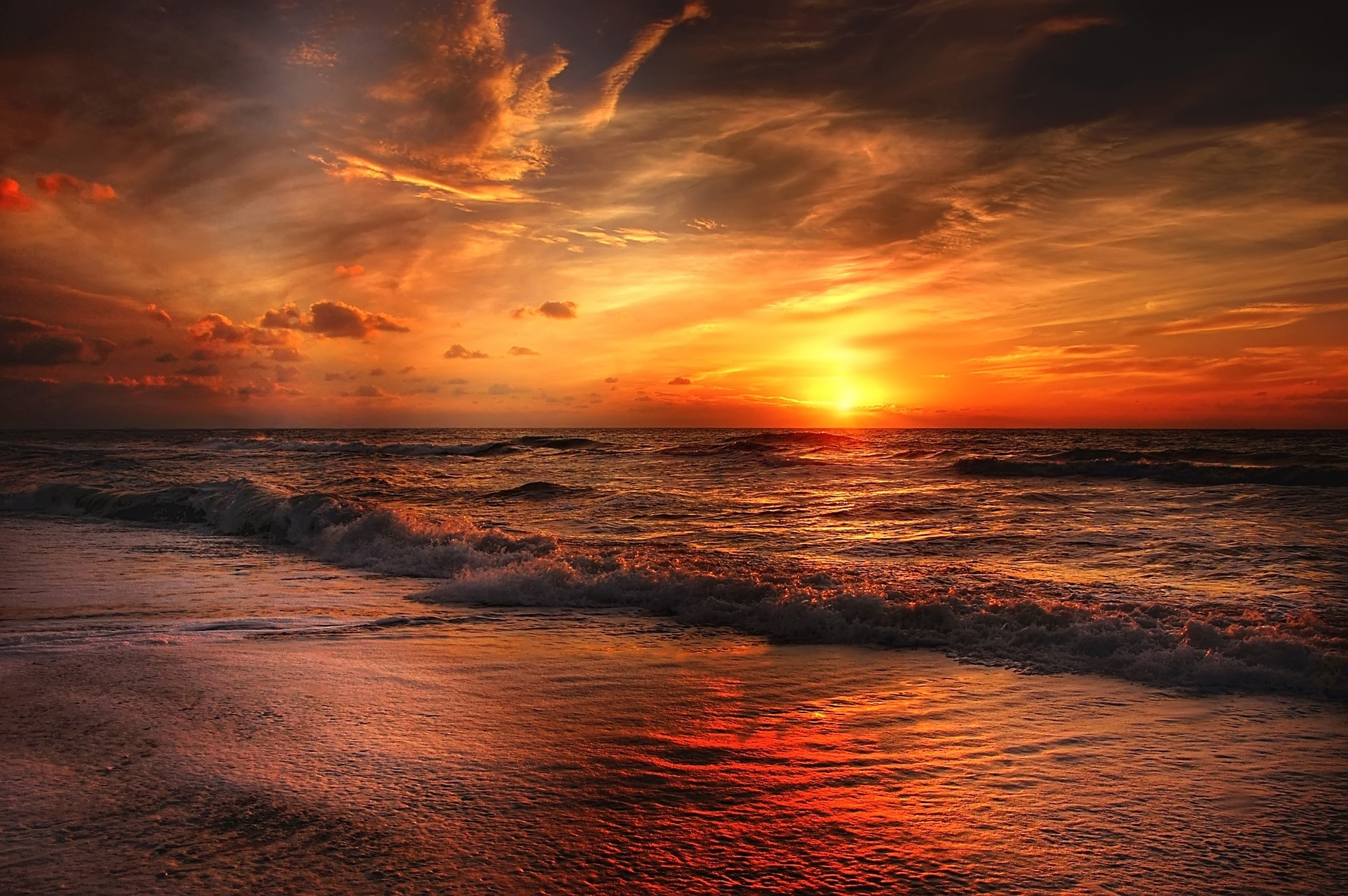 Sunset Beach Wallpapers Wallpaper Cave