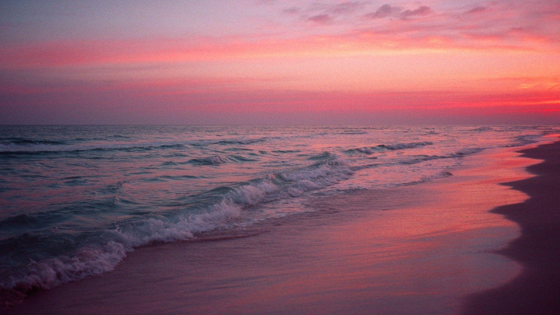Pink Beach Wallpapers