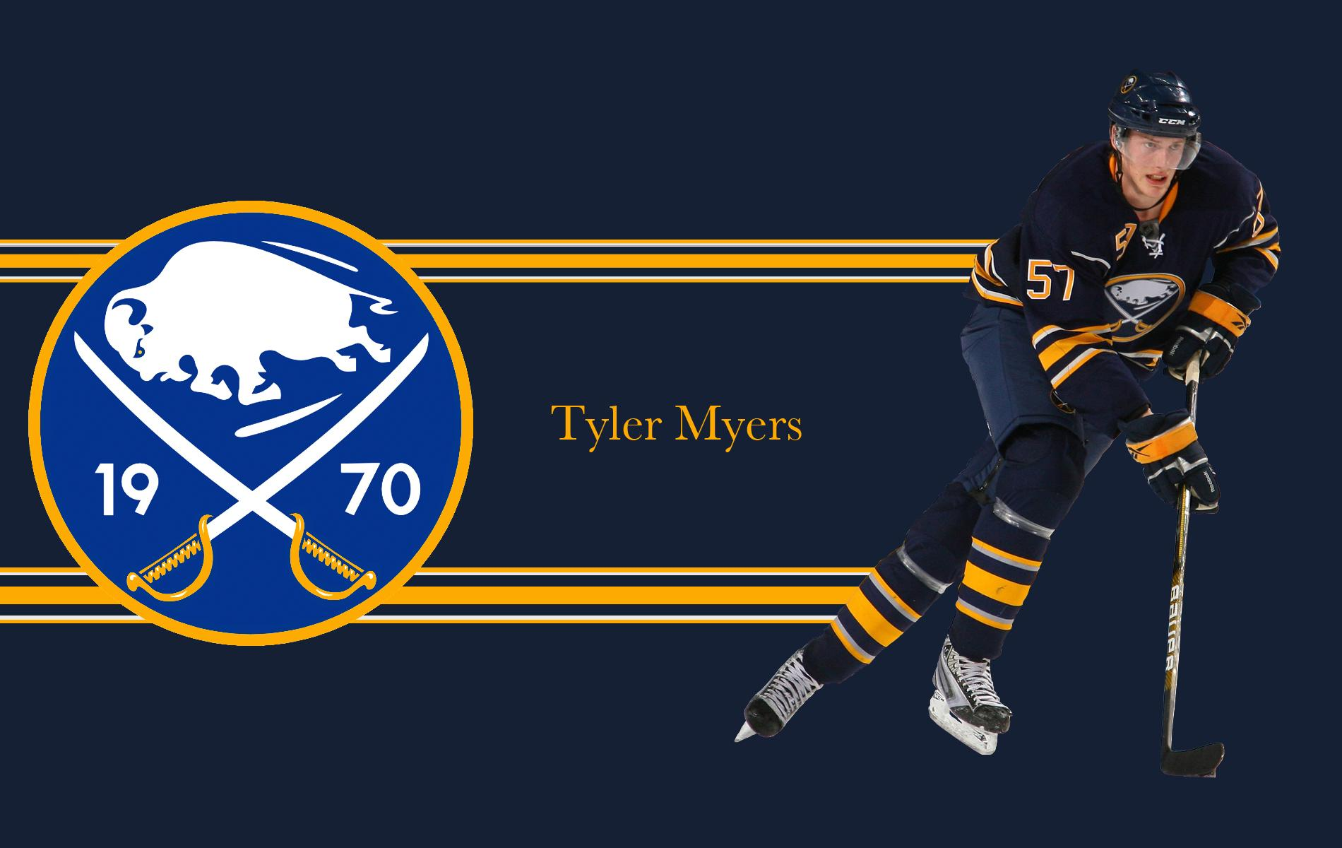NHL Buffalo Sabres Tyler Myers wallpapers 2018 in Hockey
