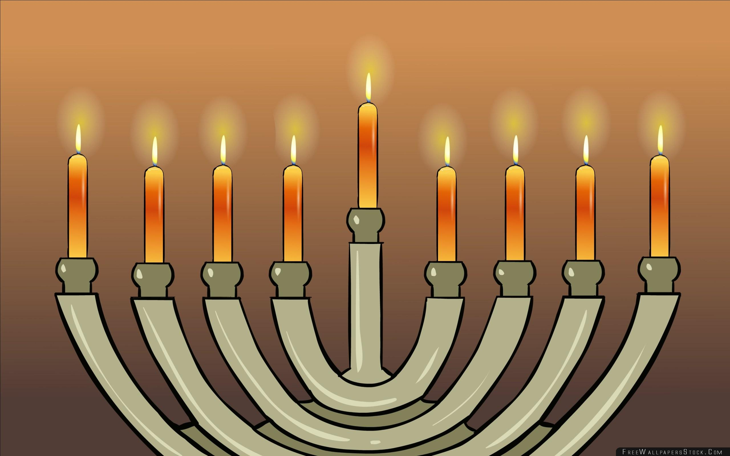 Hanukkah Jewish Holiday Consecration Wallpapers – Free Wallpapers Stock