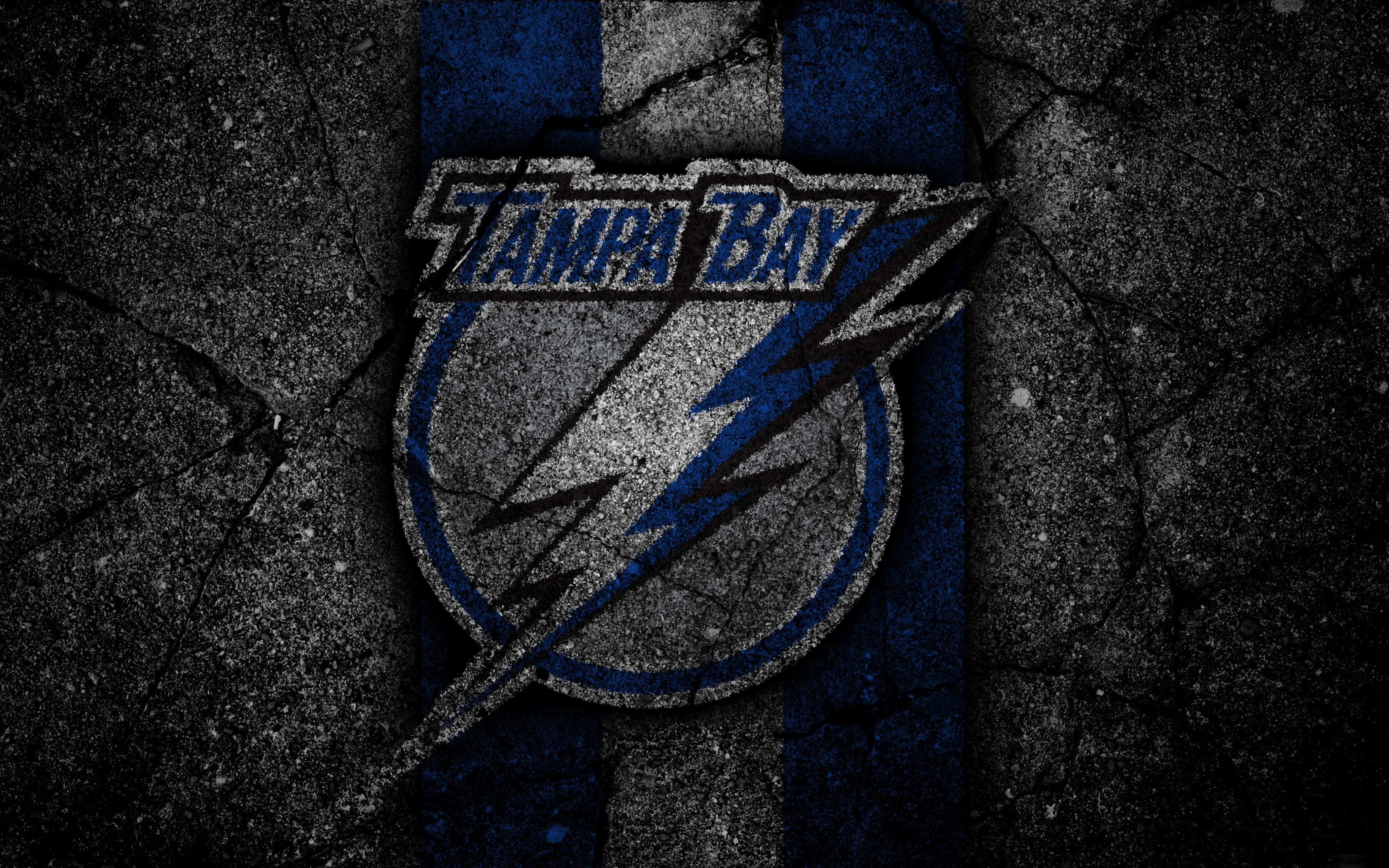 NHL, Emblem, Logo, Tampa Bay Lightning wallpapers and backgrounds