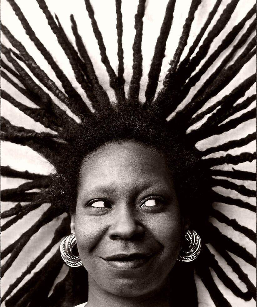 Black History Month: Natural Hair Icons | Star Struck | Whoopi ...