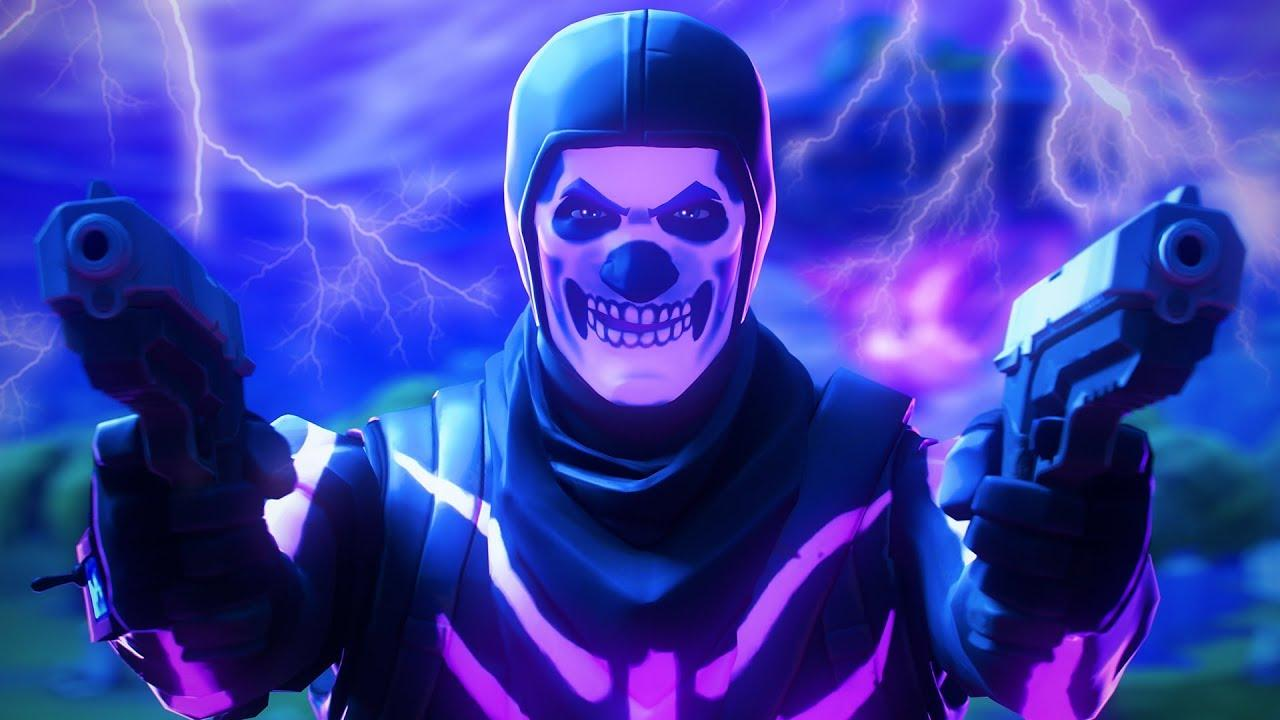 fortnite skull trooper wallpaper