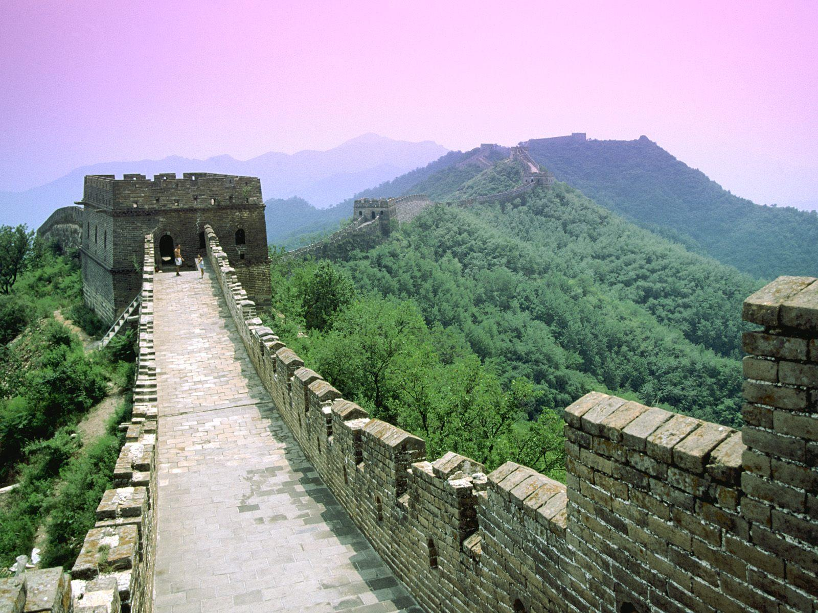 Great Wall of China Sunset Desktop Wallpapers – Travel HD Wallpapers