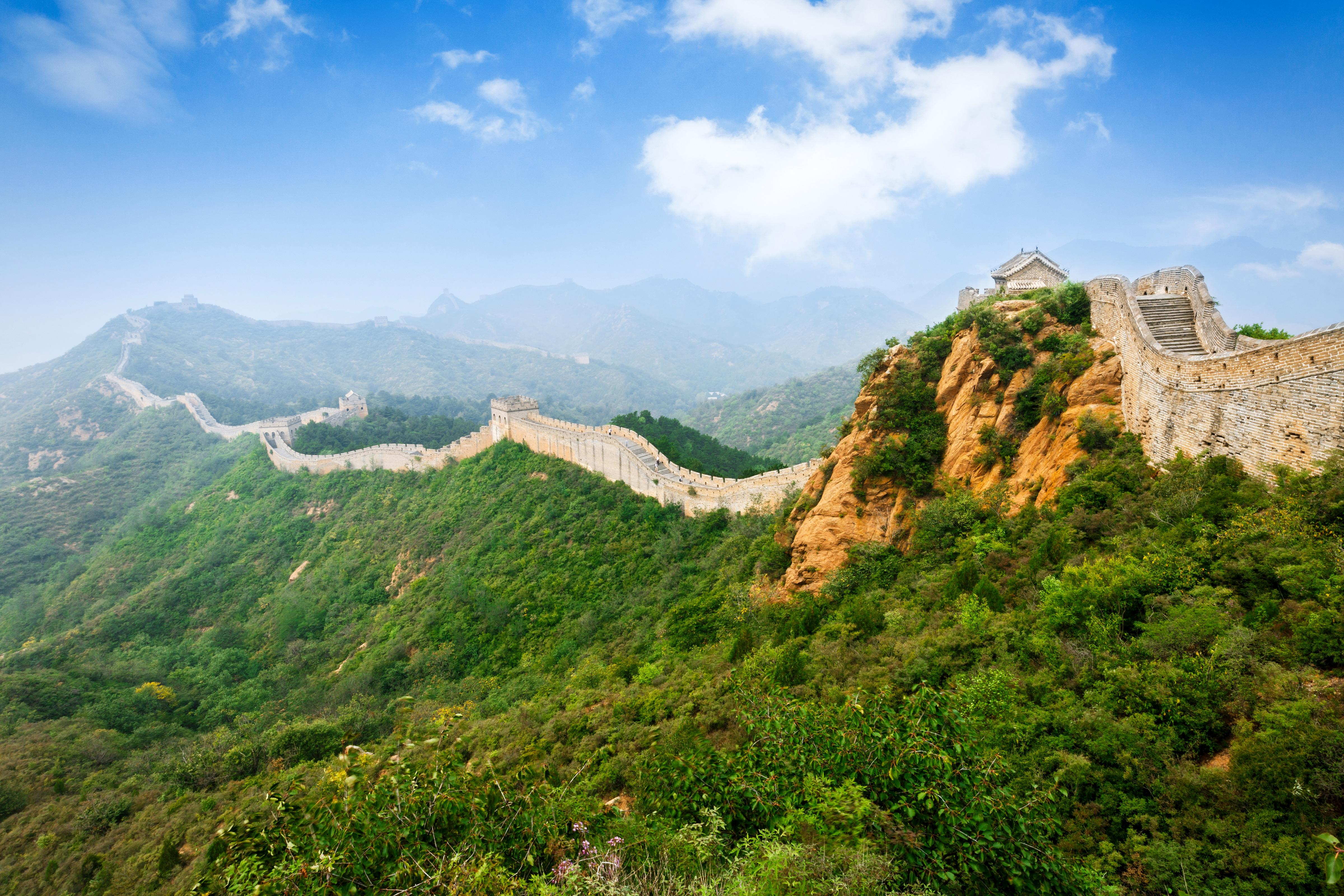 Wallpapers Great Wall of China, HD, 4K, World,