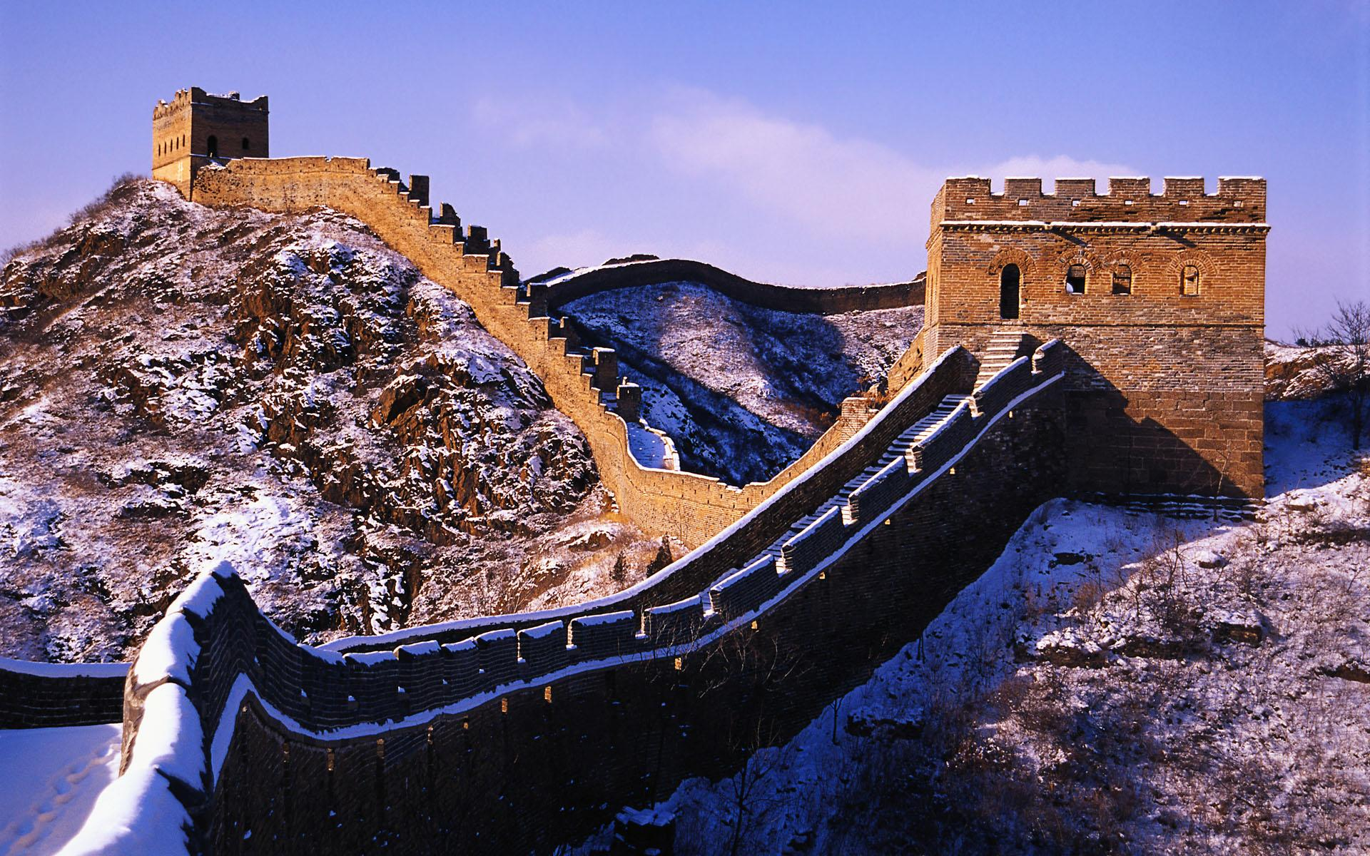 Ultra HD Great Wall Of China Wallpapers
