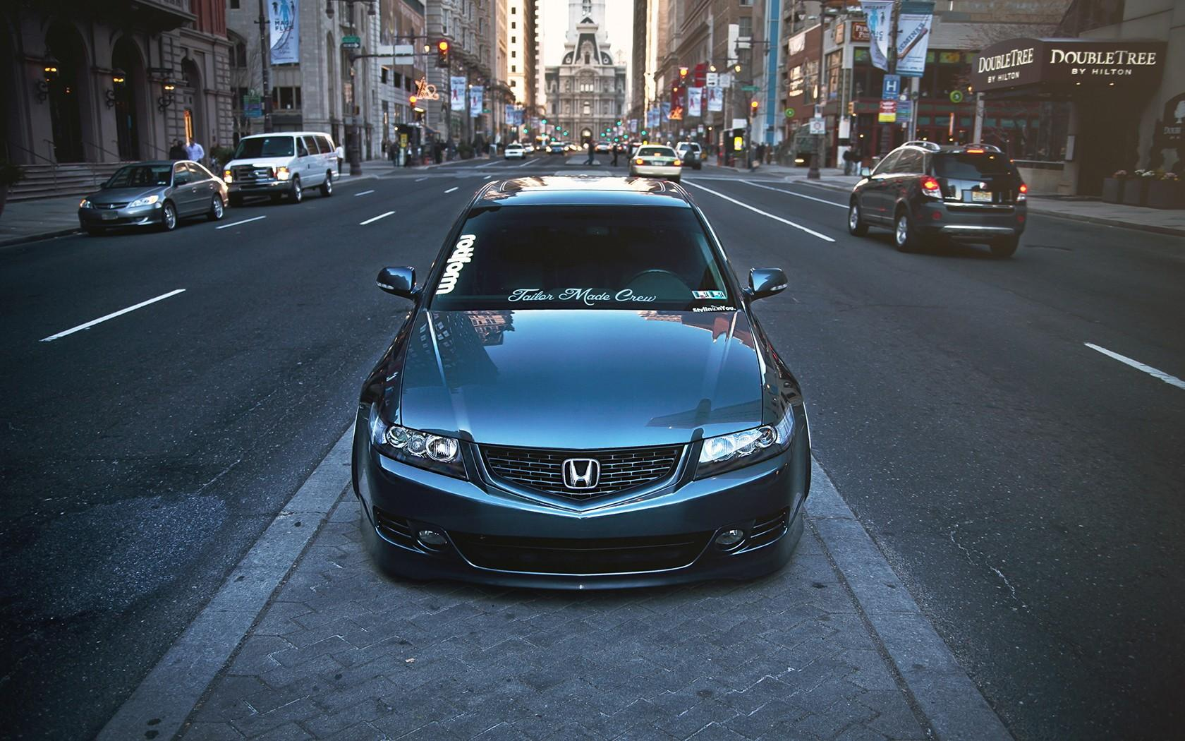 cars, tuning, Honda Accord, stance :: Wallpapers