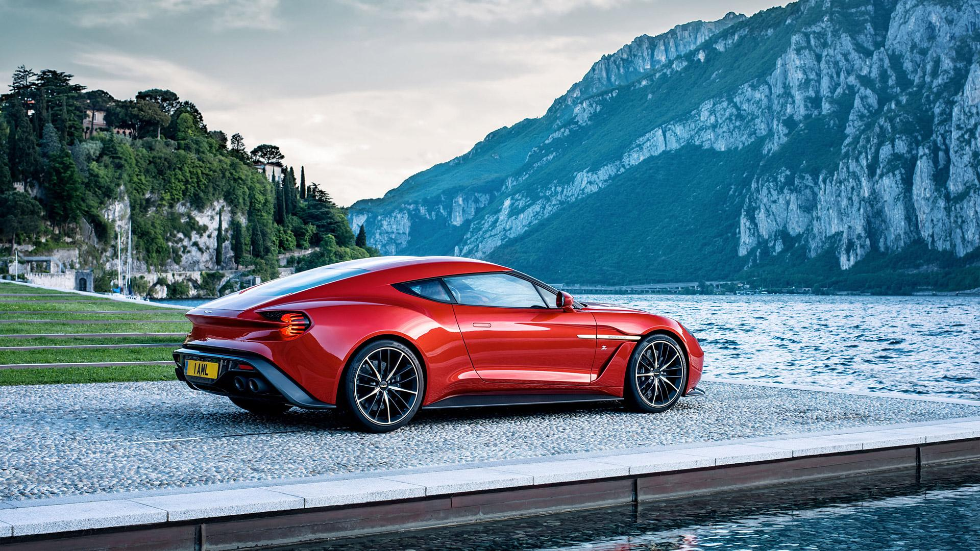 2017 Aston Martin Vanquish Zagato Wallpapers & HD Images - WSupercars