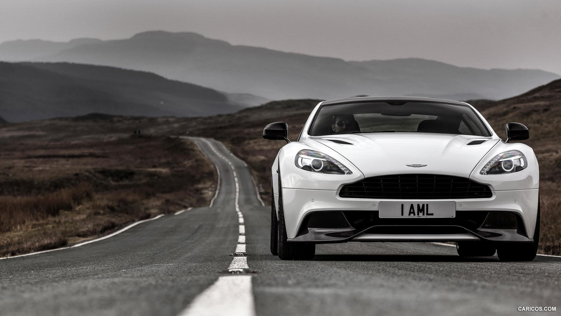 2015 Aston Martin Vanquish Carbon White Edition - Front | HD ...