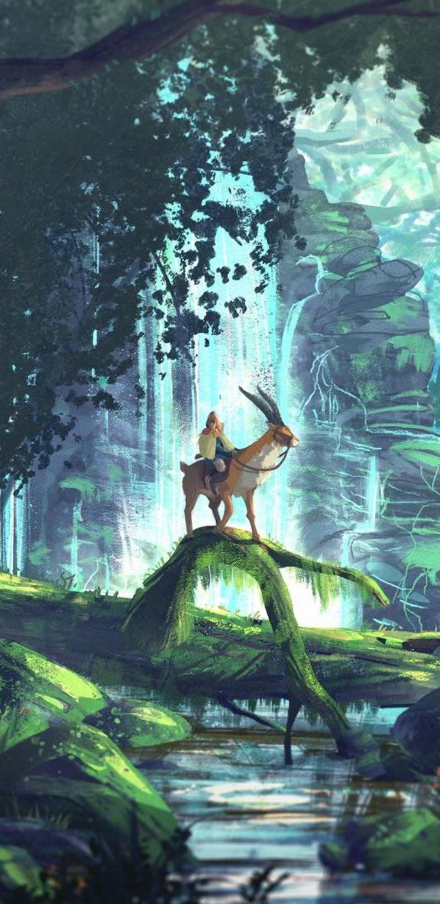 princess mononoke ashitaka wallpaper