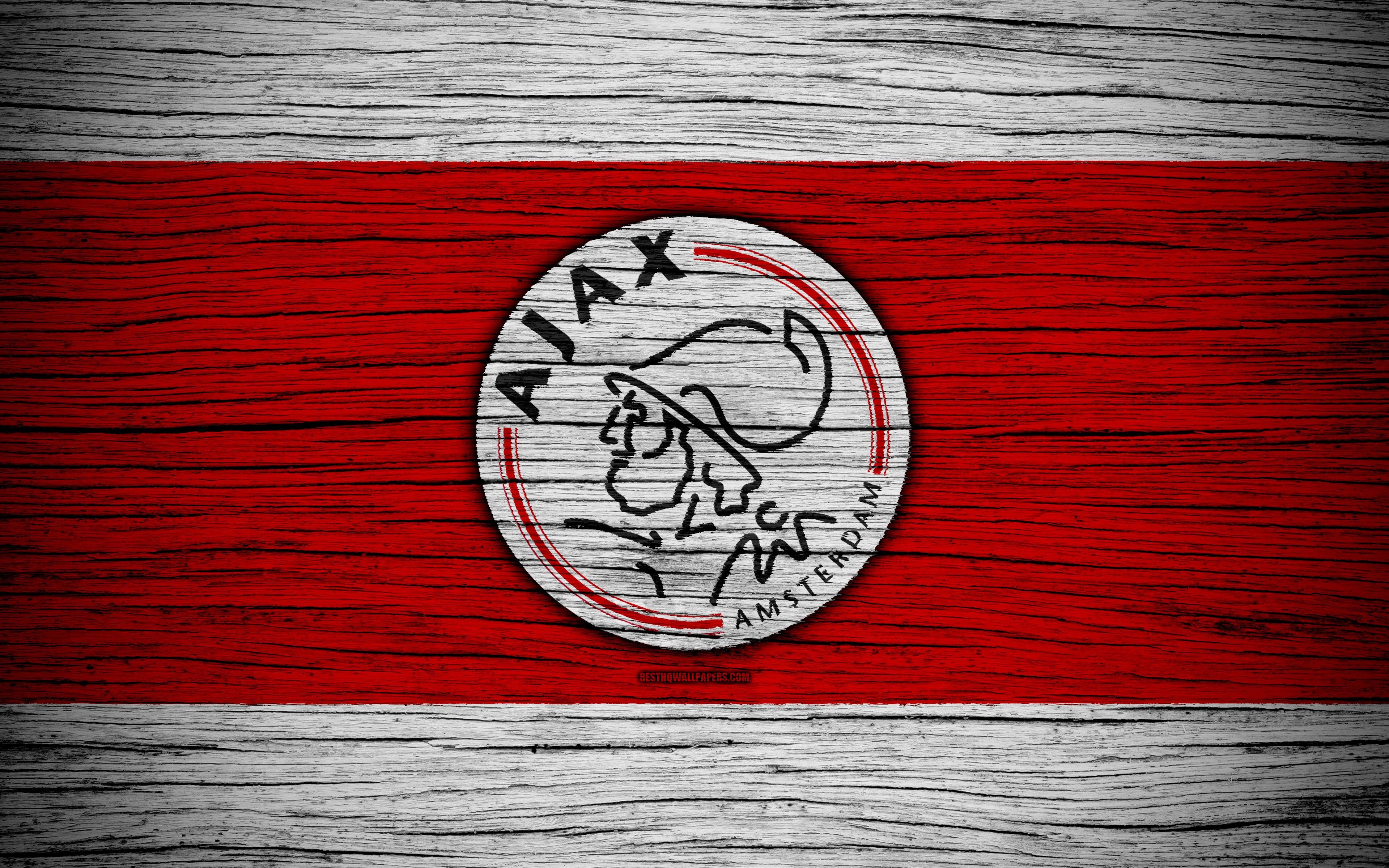 Download wallpapers Ajax FC, 4k, Eredivisie, soccer, Holland, AFC