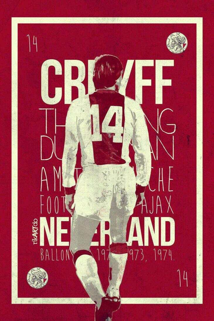 Johan Cruyff of Ajax Amsterdam wallpaper.