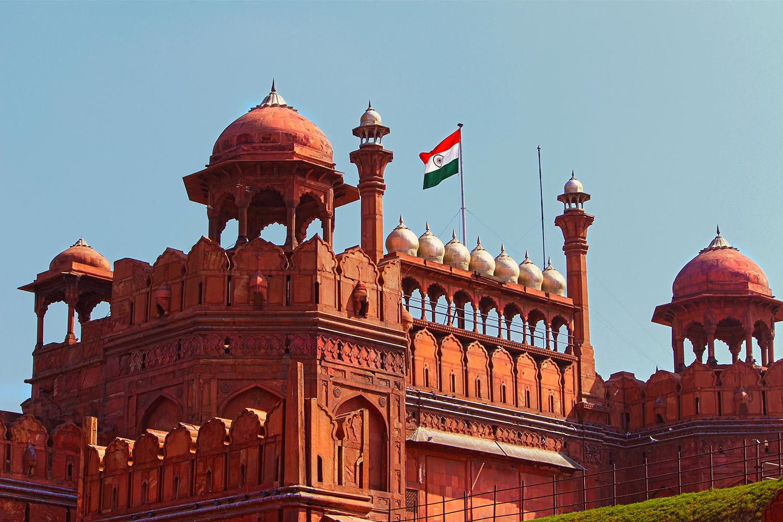Red Fort-- Delhi
