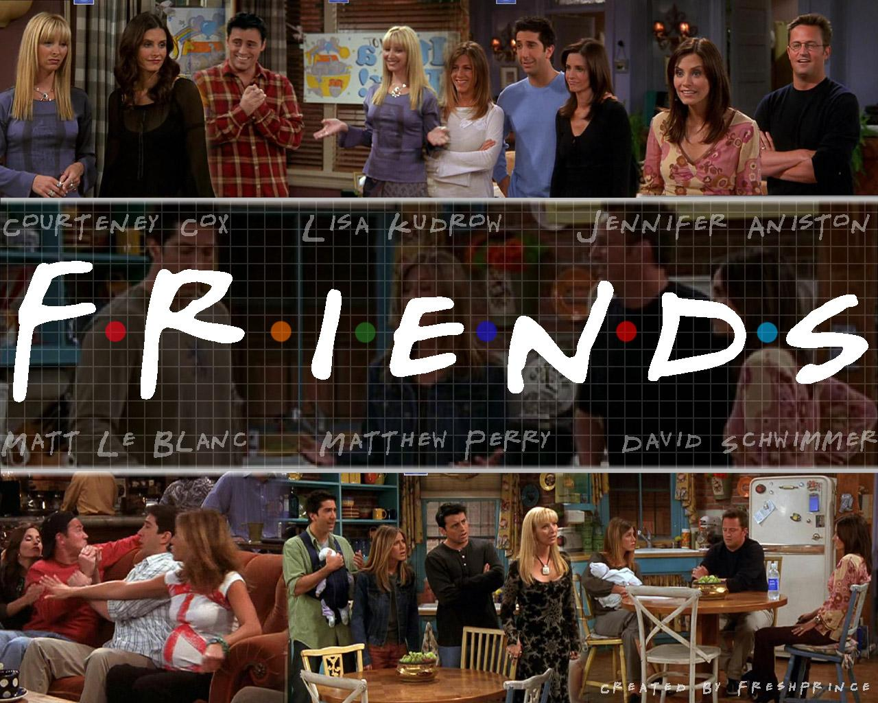 Friends Tv Show Wallpapers Wallpaper Cave