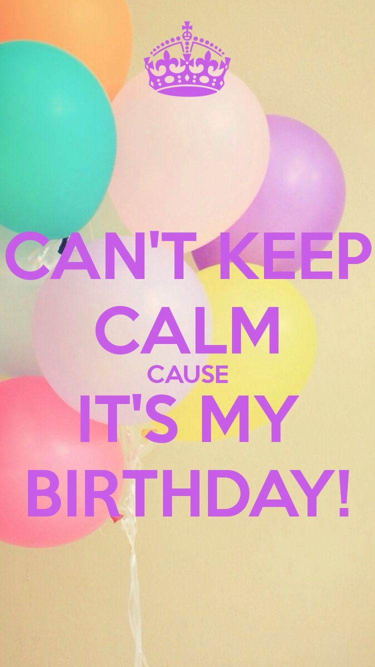 It S My Birthday Wallpapers Wallpaper Cave
