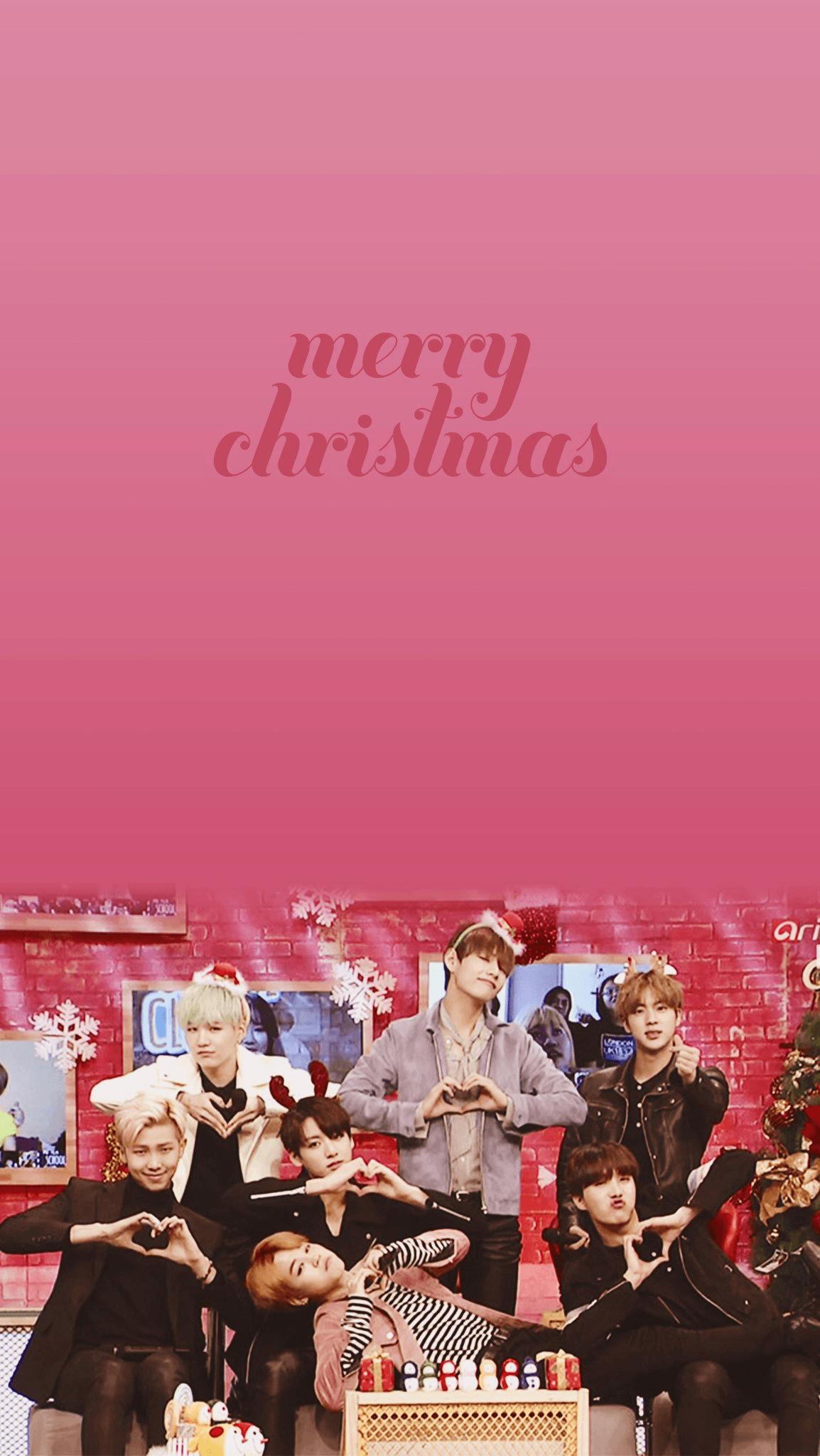 Kpop Christmas Wallpapers Wallpaper Cave