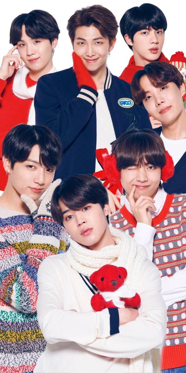 Bts Christmas Wallpapers Wallpaper Cave