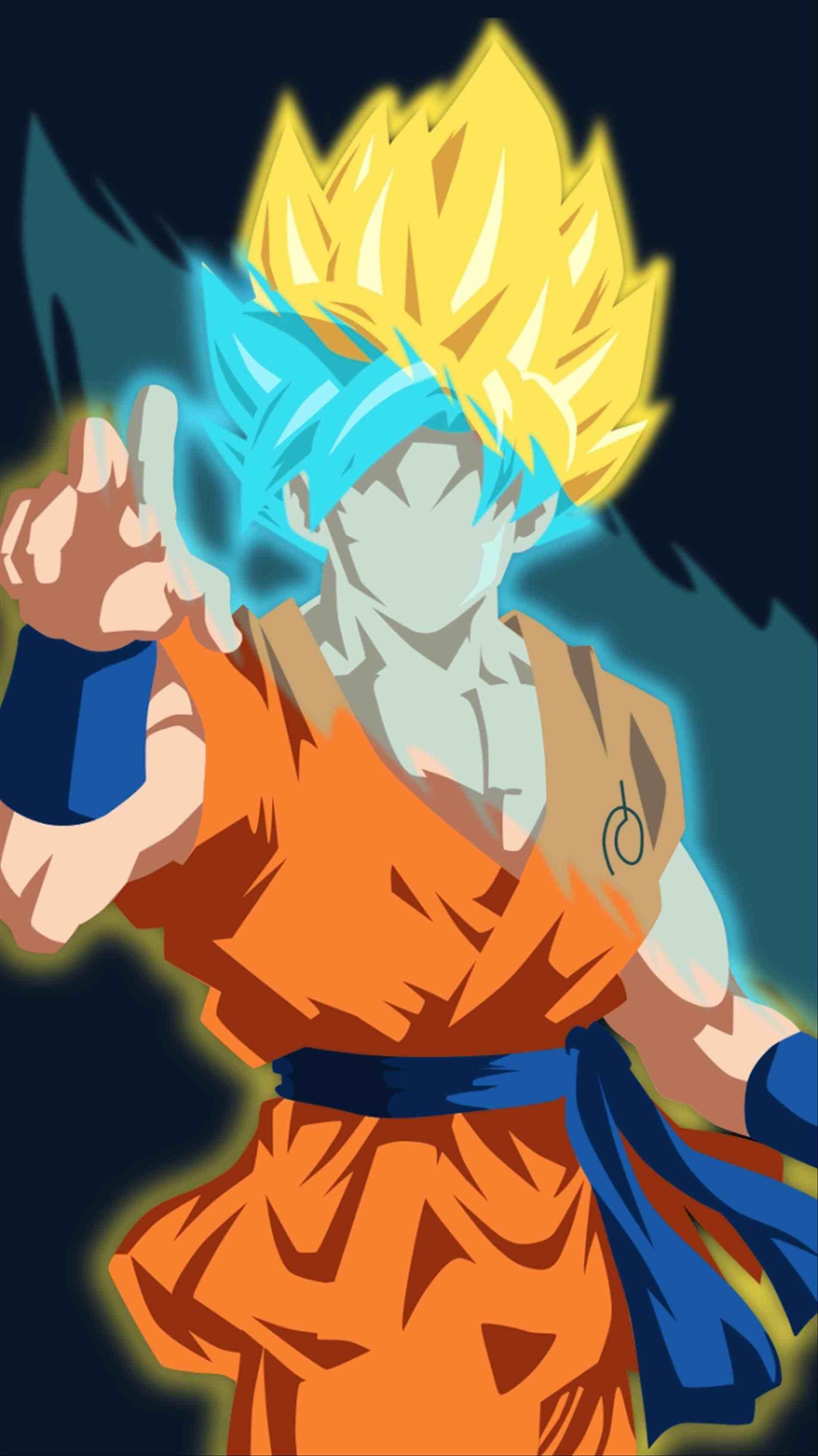Super Saiyan God Goku Wallpapers Wallpaper Cave
