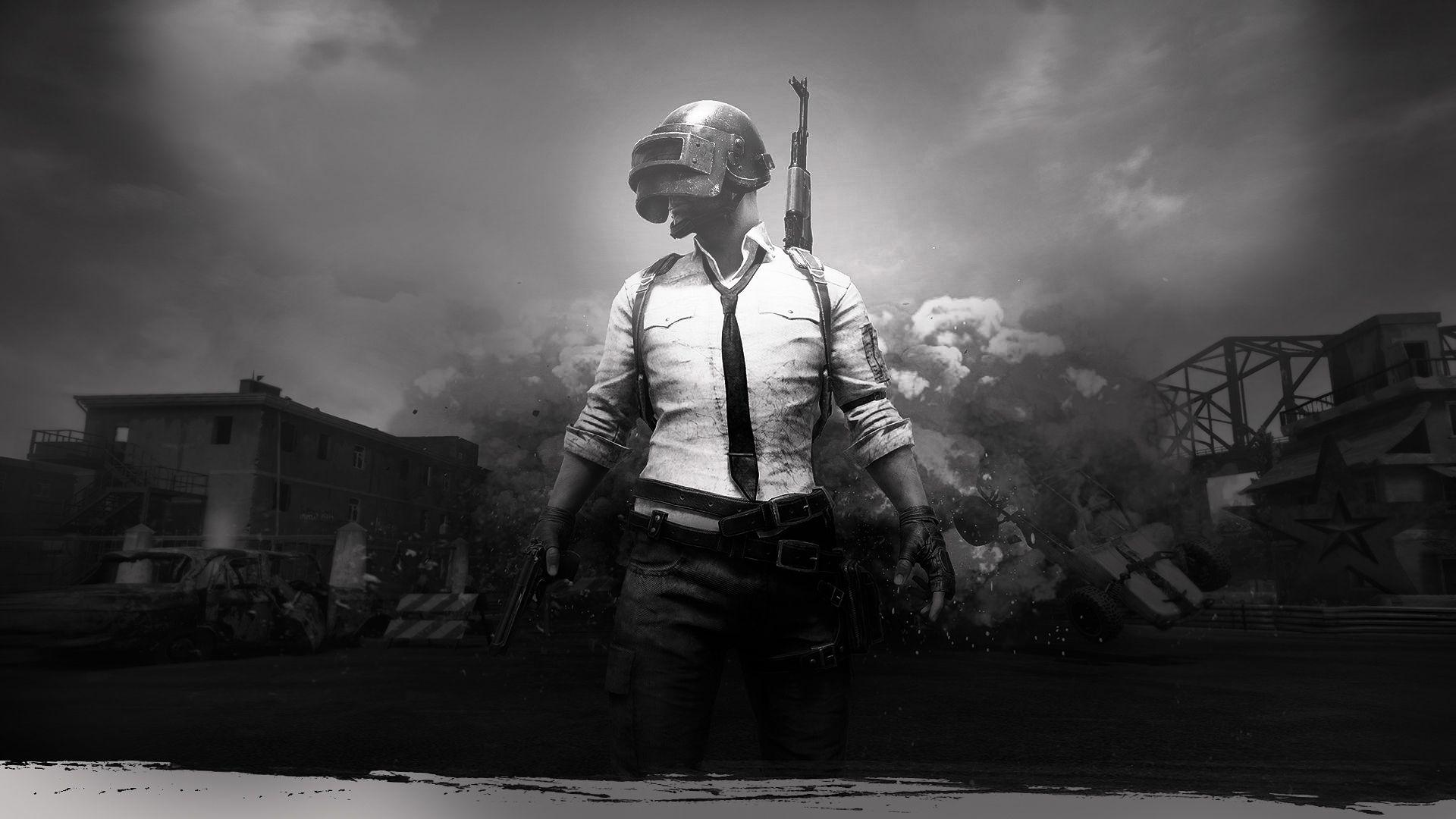Black And White Pubg Wallpapers Wallpaper Cave