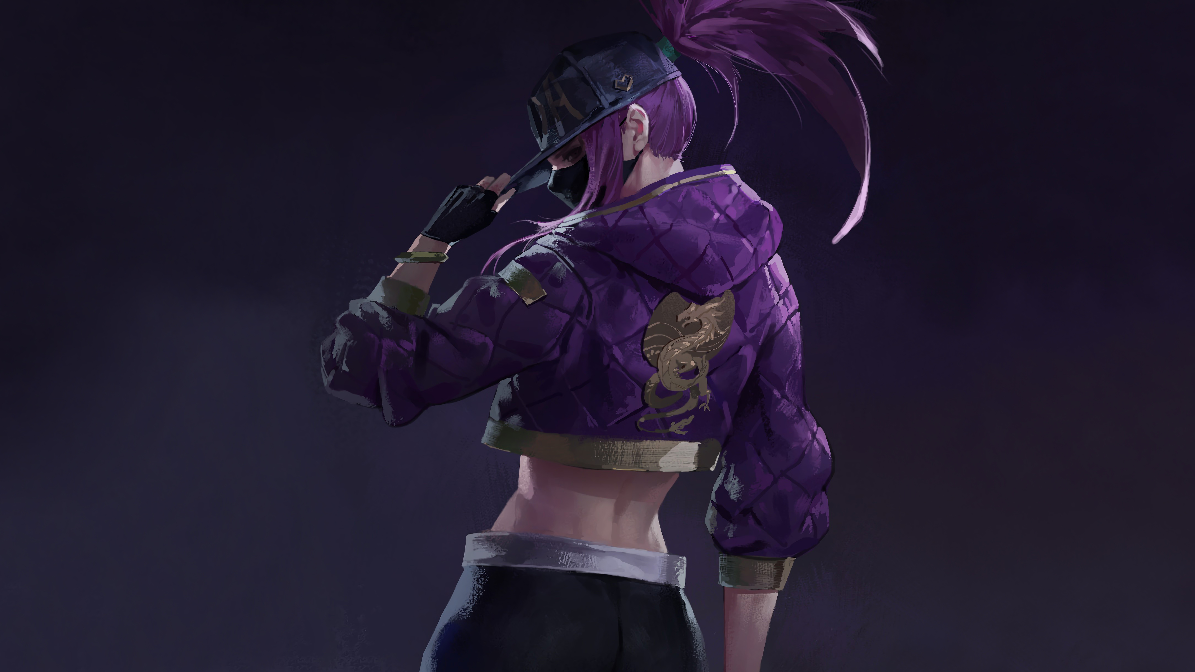 Kda Akali Lol, HD Games, 4k Wallpapers, Image, Backgrounds, Photos