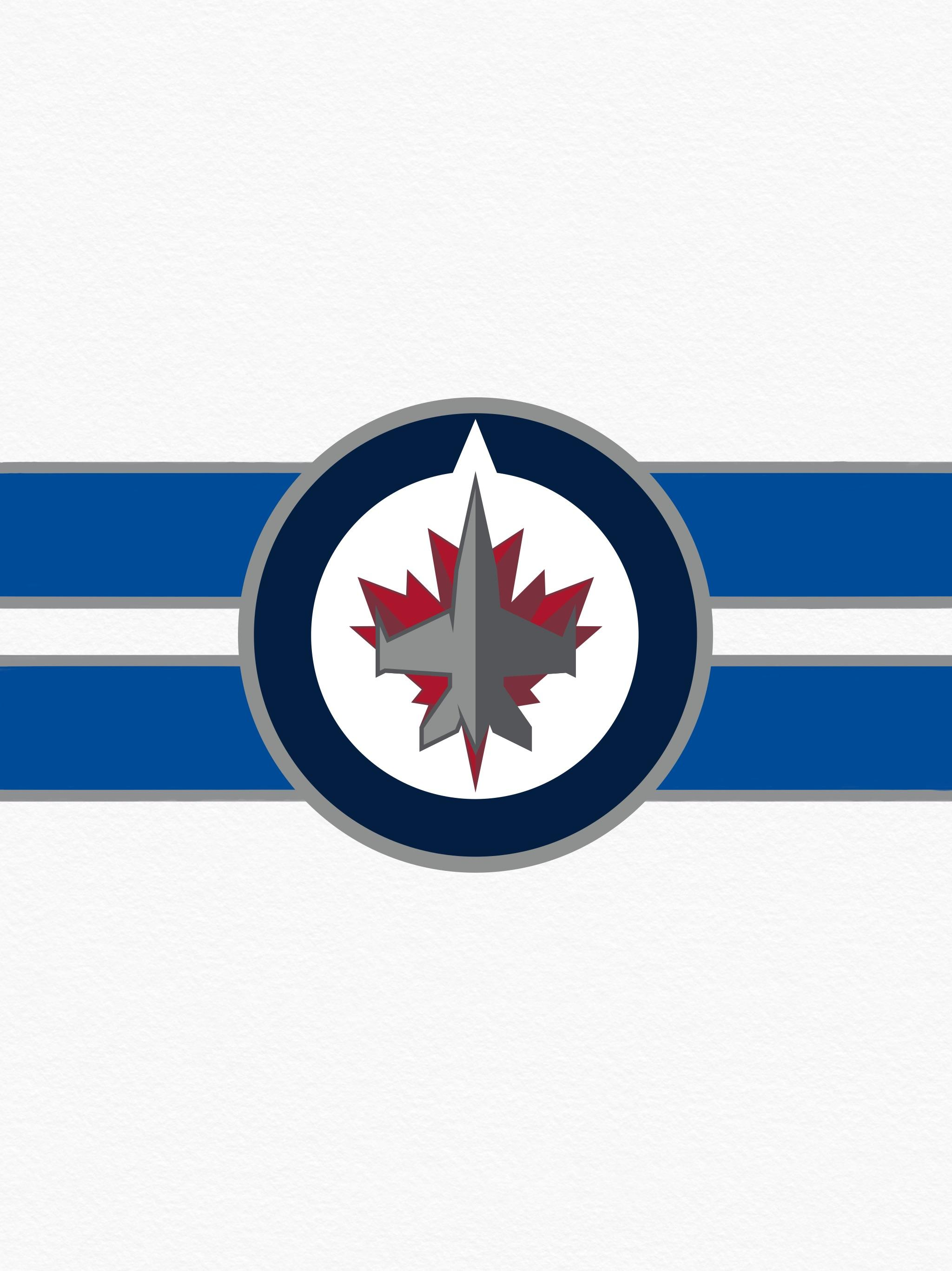 Made a whiteout wallpaper, figured I'd share it. GO JETS GO ...