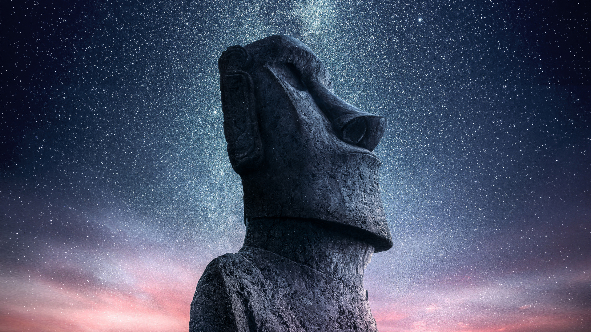 Moai Statue, Easter Island [1920x1080] : wallpapers