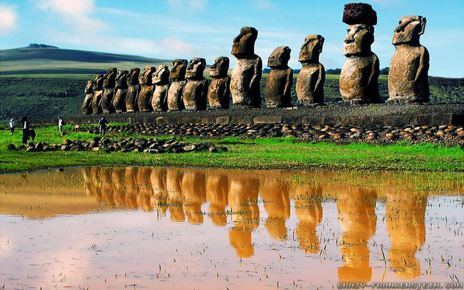 Easter island Wallpapers Elegant the Easter island Statues How the