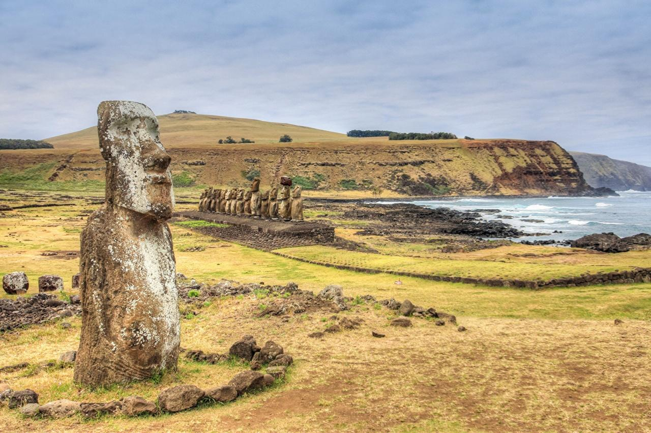 Pictures Chile Rapa Nui, Easter Island Nature Stones