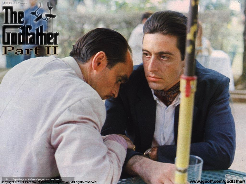 Download wallpapers Godfather 2, The Godfather: Part II, film, movies