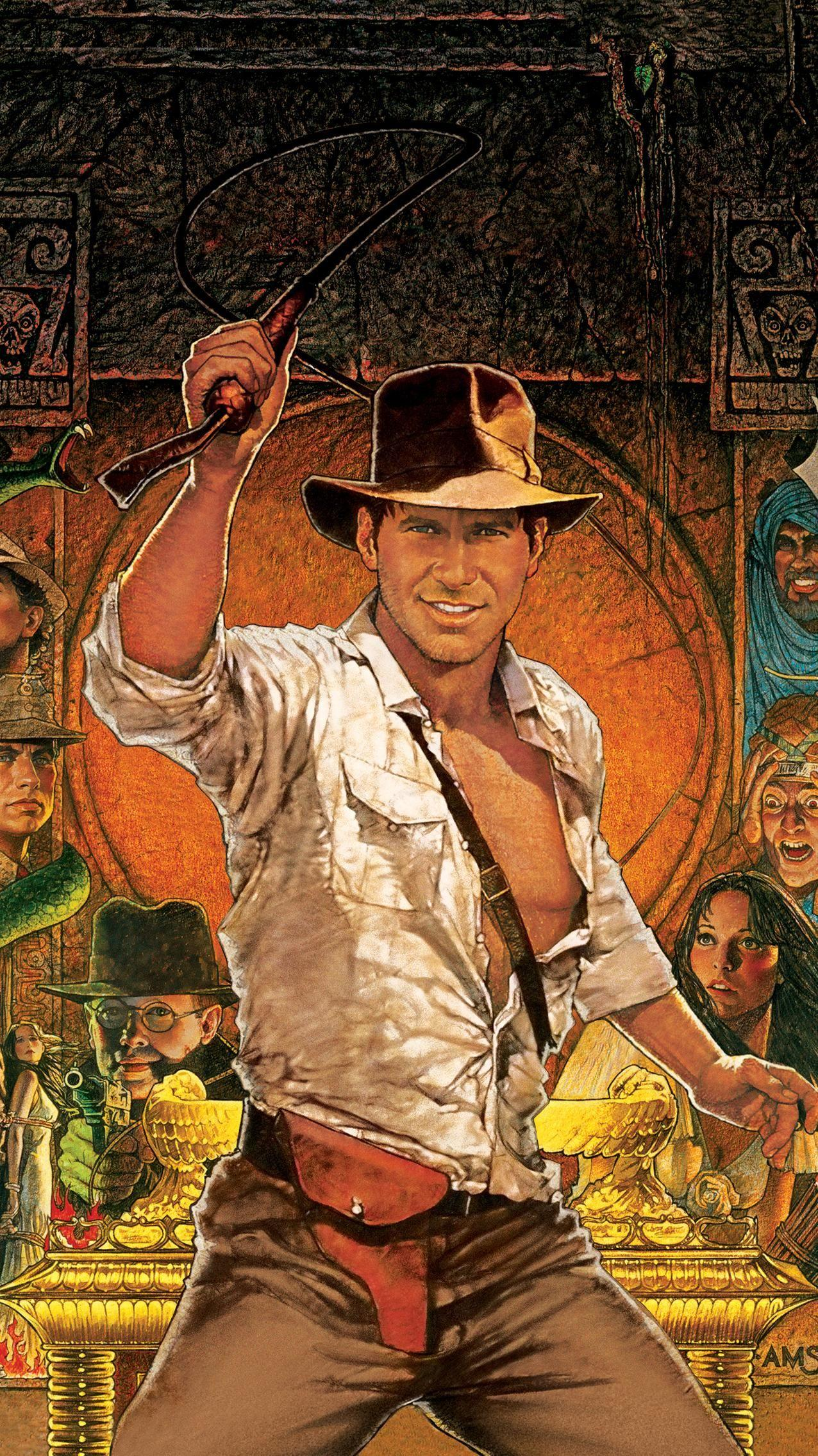 Raiders of the Lost Ark (1981) Phone Wallpaper in 2019 | Indiana ...