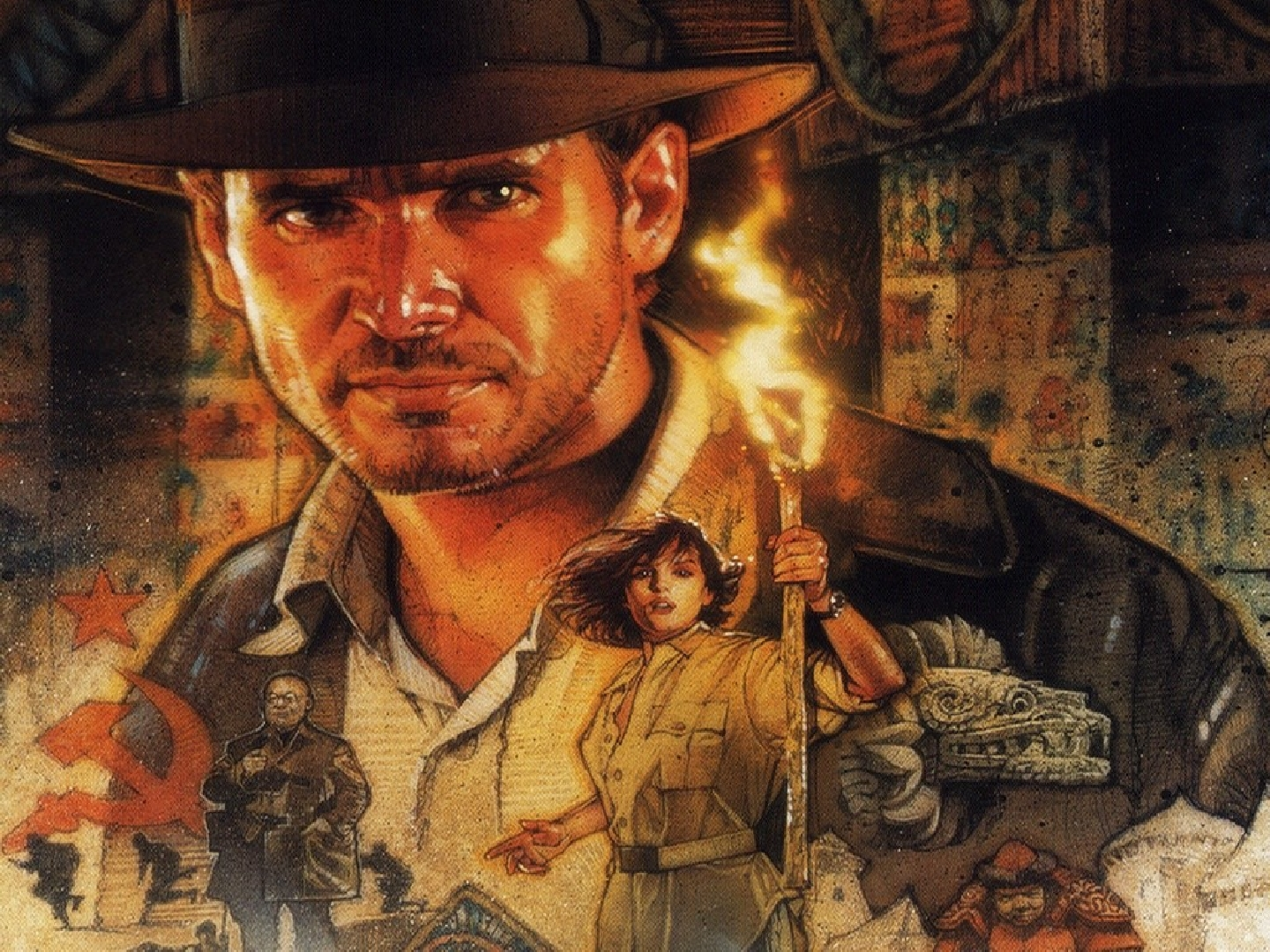 Raiders Of The Lost Ark Wallpaper Image Group (33+)