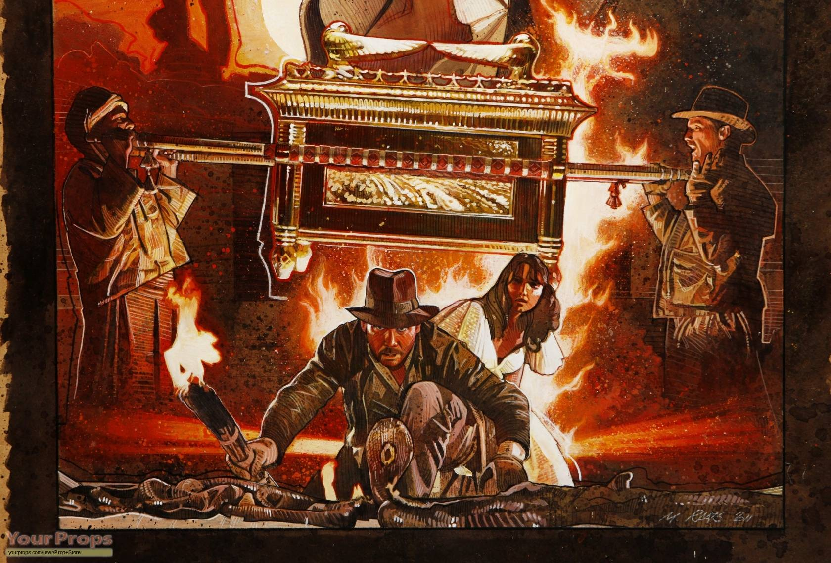 Best 50+ Raiders of the Lost Ark Background on HipWallpaper ...
