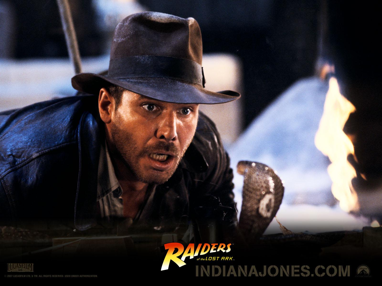 Wallpaper Indiana Jones Raiders of the Lost Ark Movies