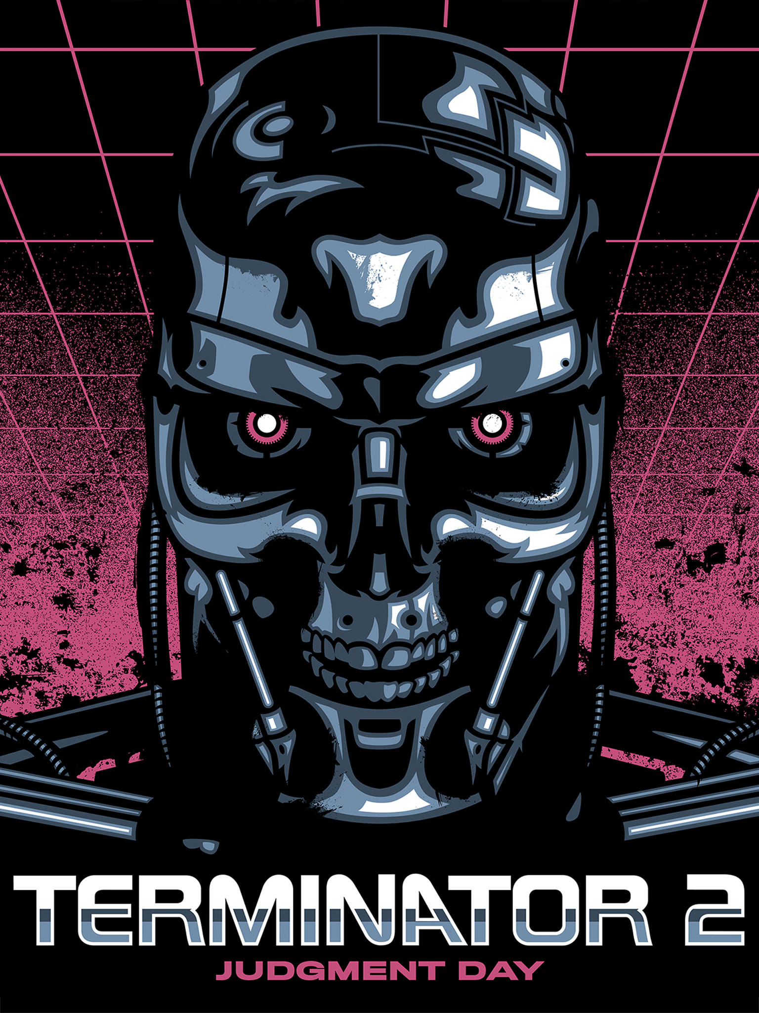 Wallpaper of the Week: Terminator 2 by James White