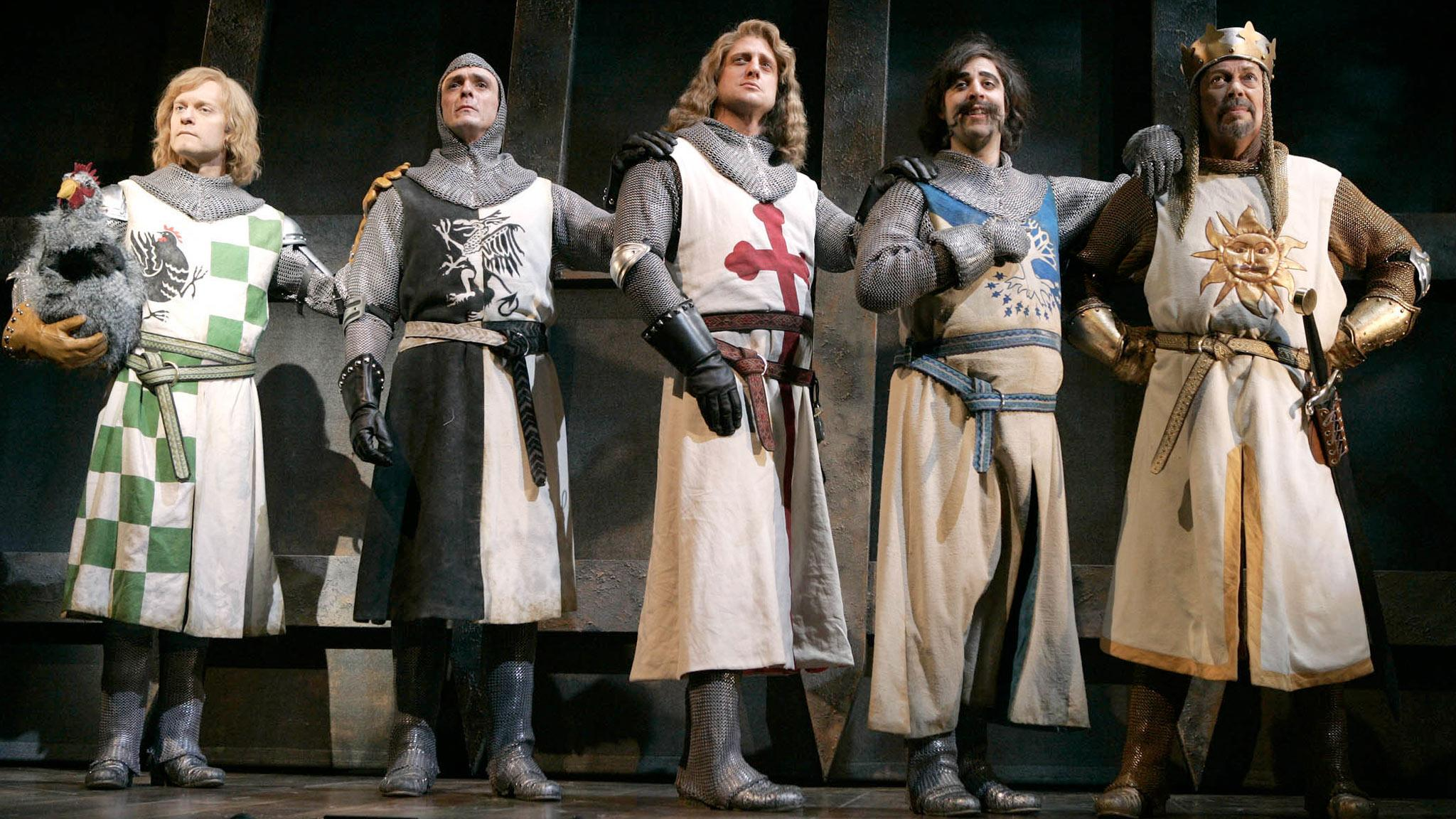 Monty Python and the Holy Grail' producer wins 'Spamalot' trial