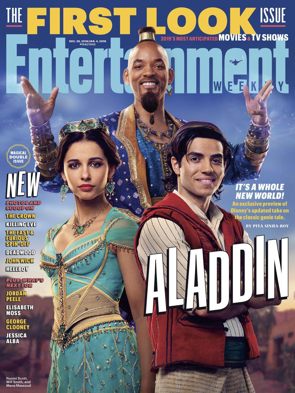 Aladdin: New image from live
