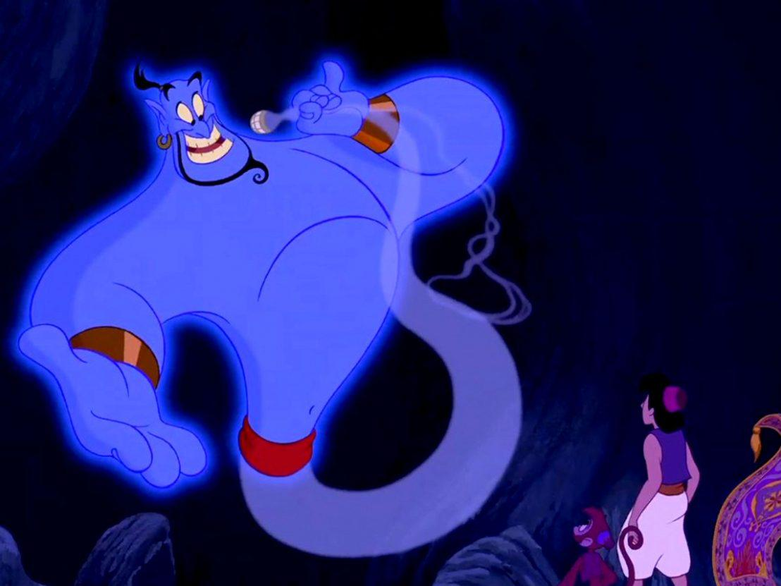 Who should play the Genie in the live
