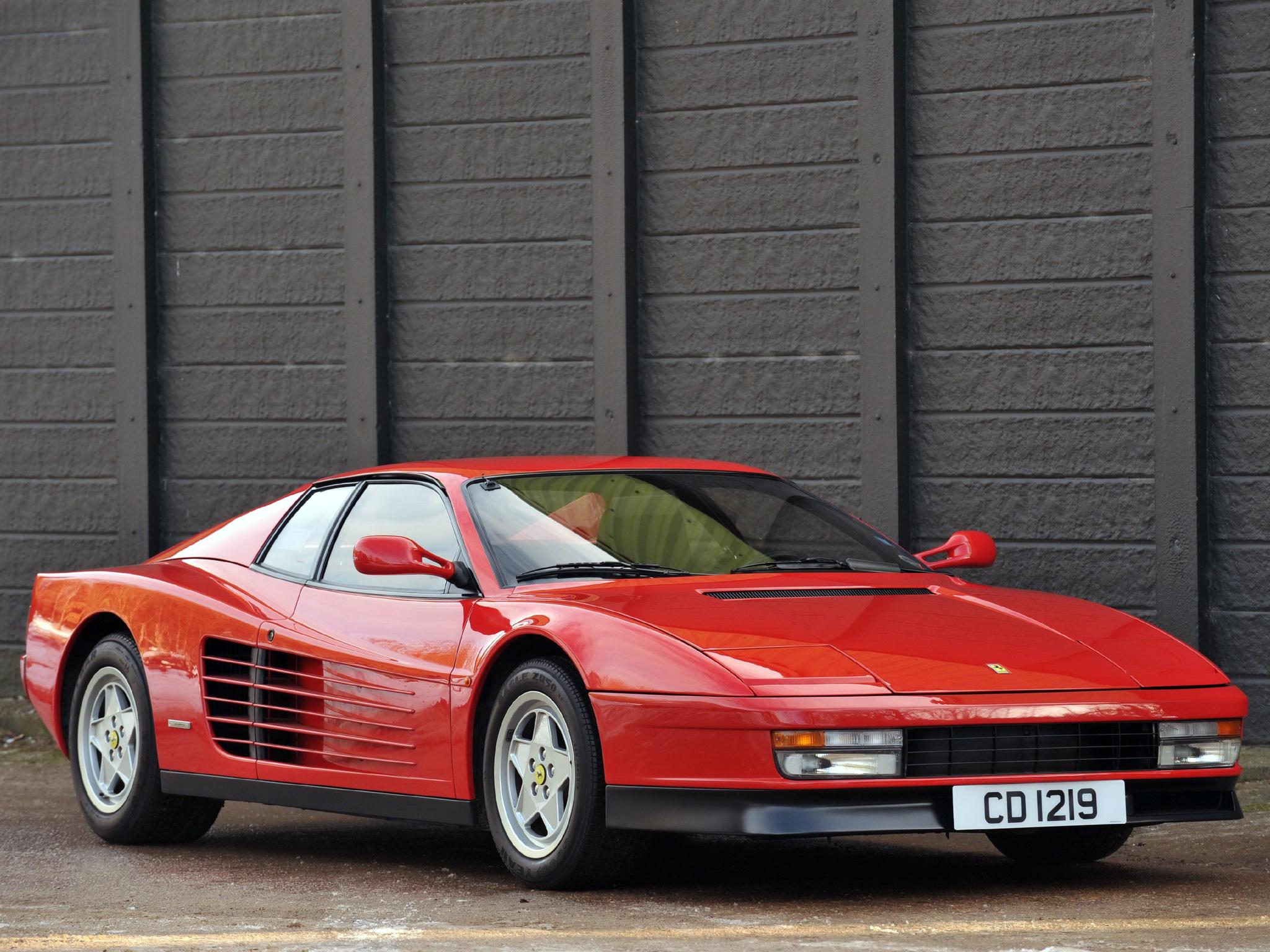 Download 80S Ferrari Testarossa Wallpaper  Pictures