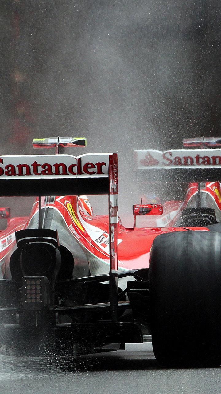 F1 Ferrari Desktop Wallpaper