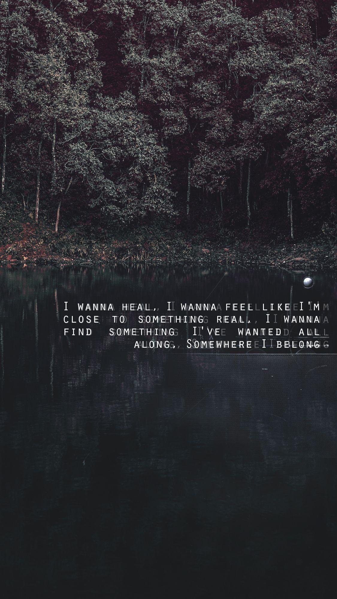 Linkin Park Lyrics Wallpapers Wallpaper Cave