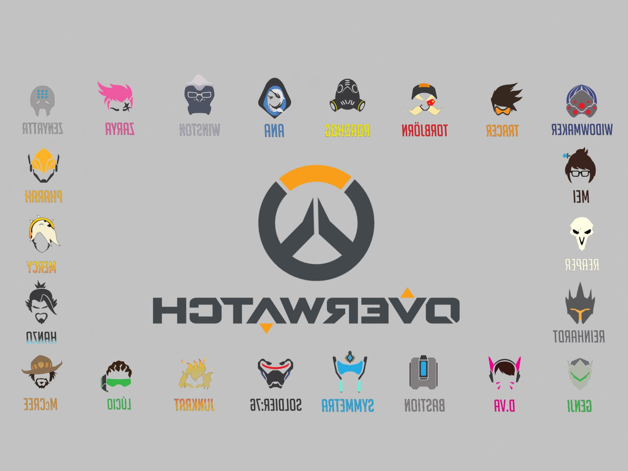 Overwatch Logo Wallpapers Wallpaper Cave