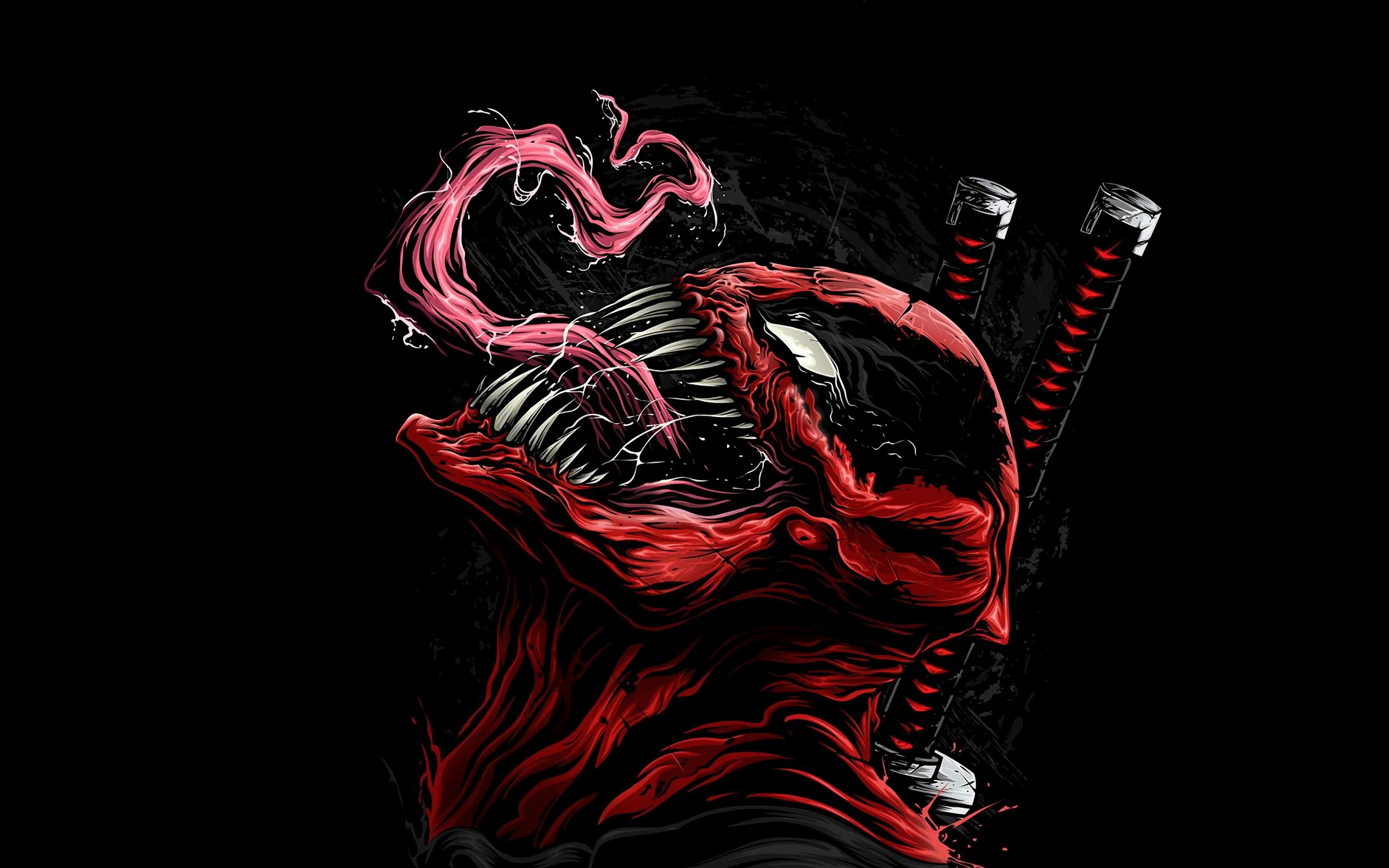 Red Venom Wallpapers Wallpaper Cave