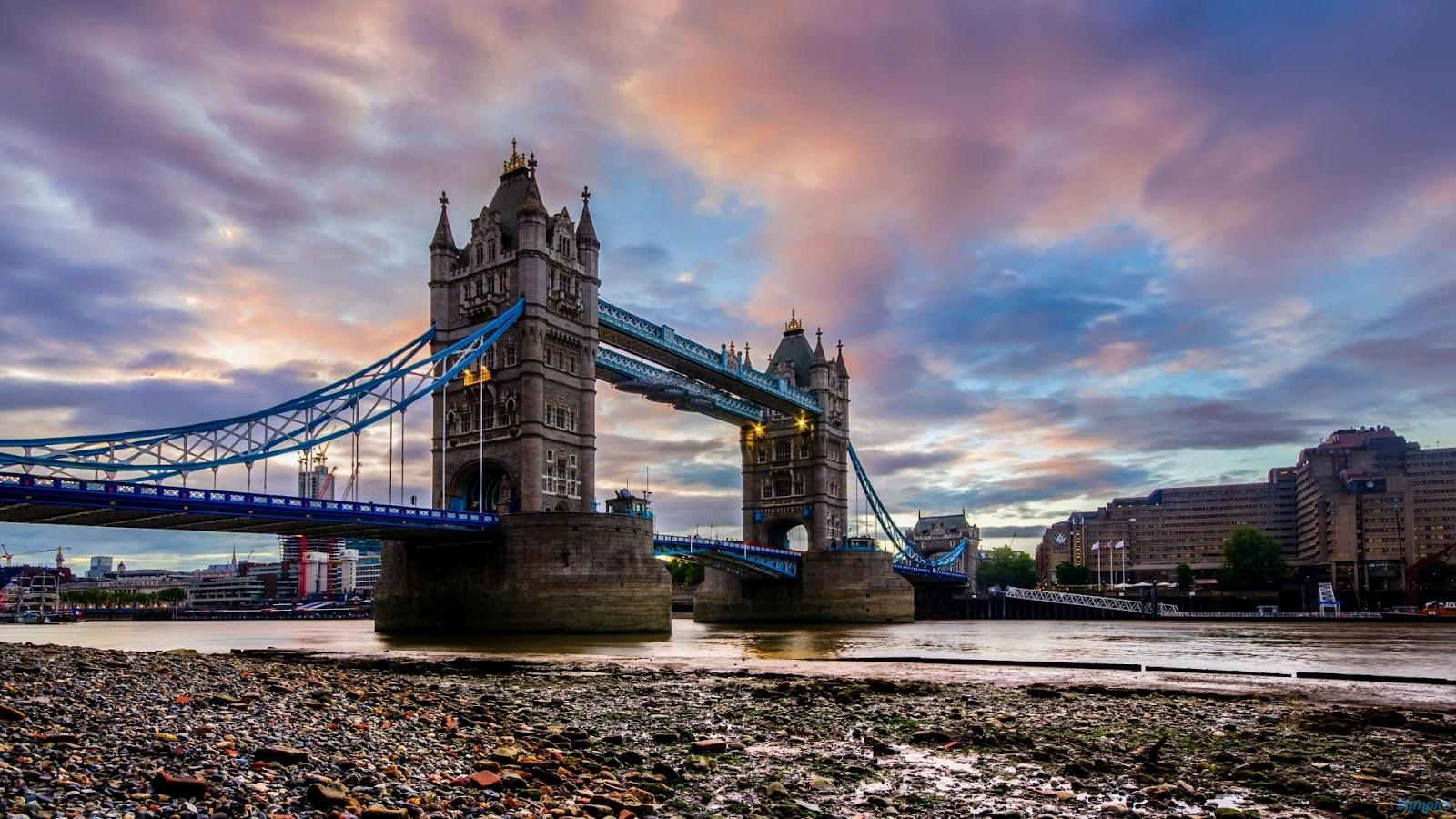 Tower Bridge Wallpaper 19 - 1600 X 900 | stmed.net