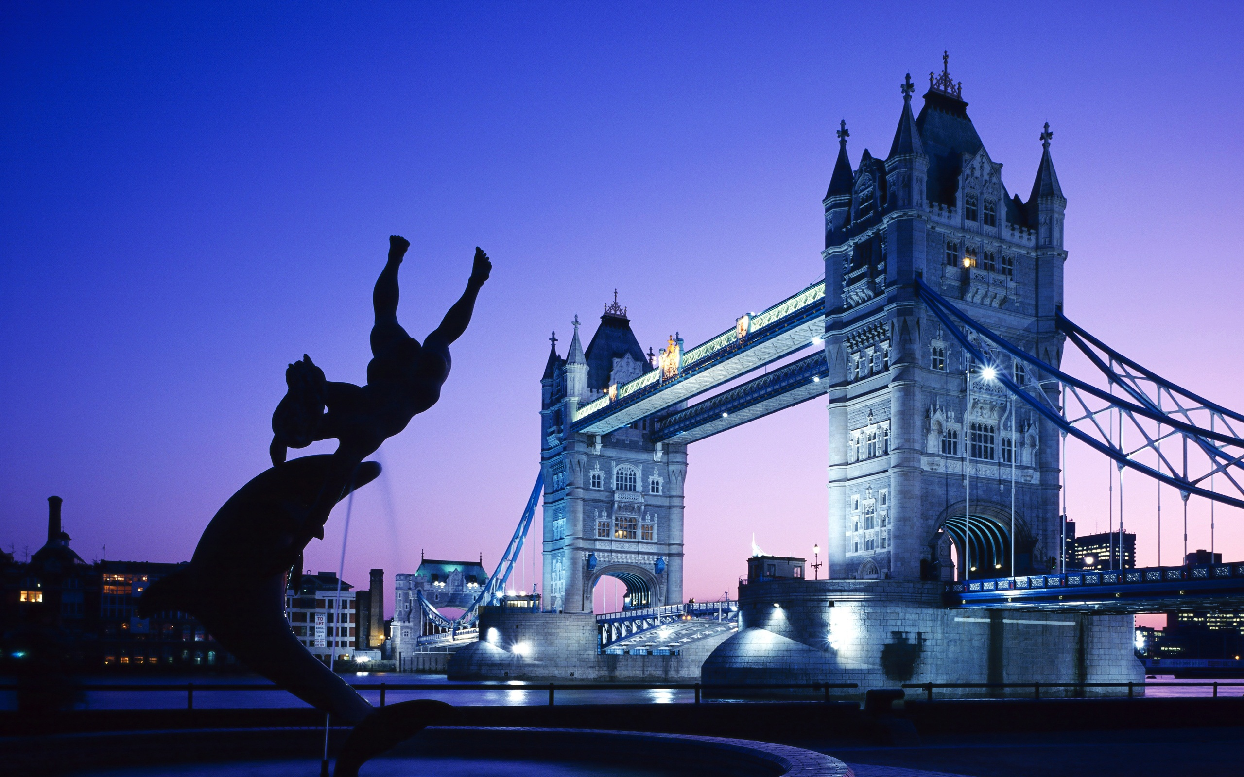London Tower Bridge UK wallpaper