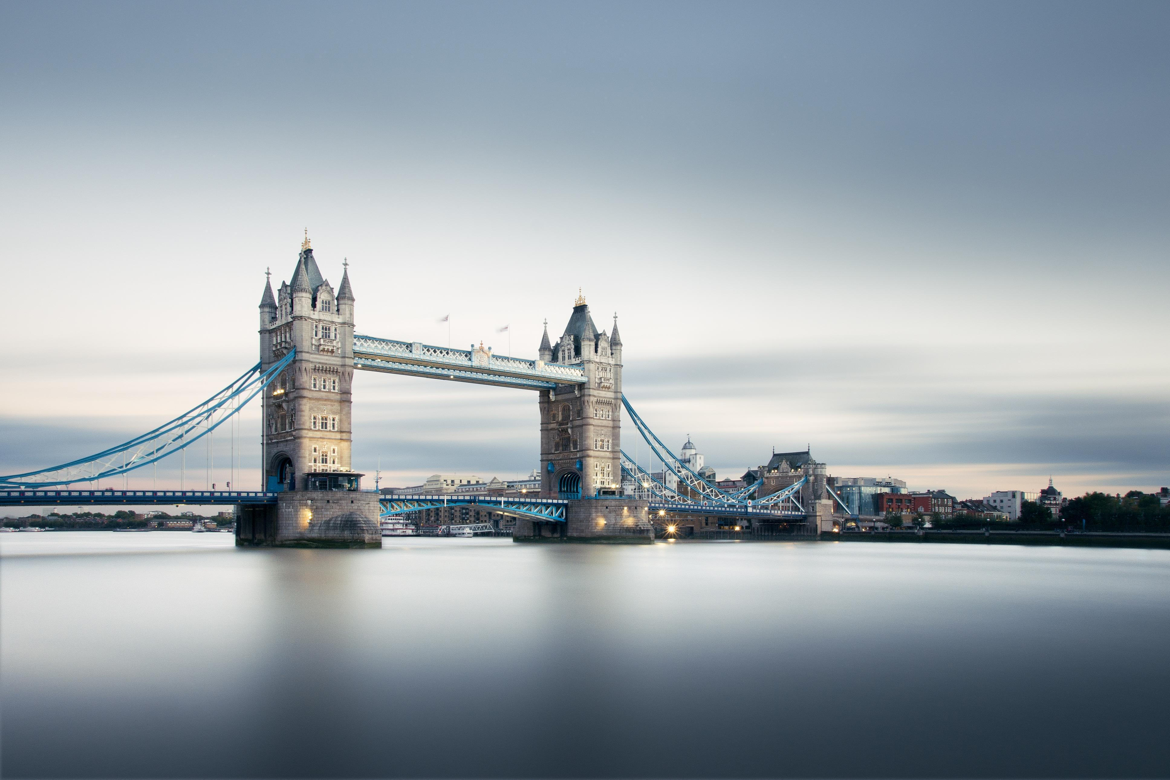 Wallpaper Tower Bridge, London, United Kingdom, 4K, World, #15460