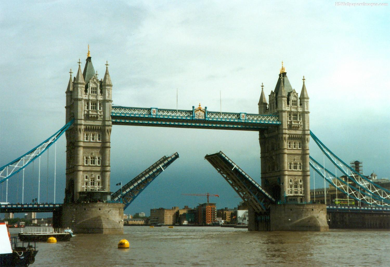 Tower Bridge Open HD Wallpaper, Background Images